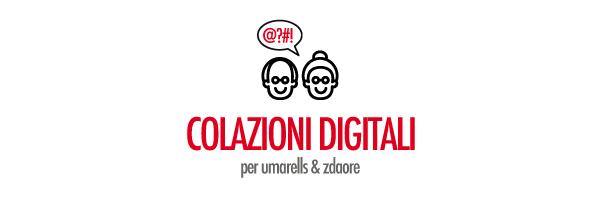 Colazioni digitali per Umarells&Zdaore