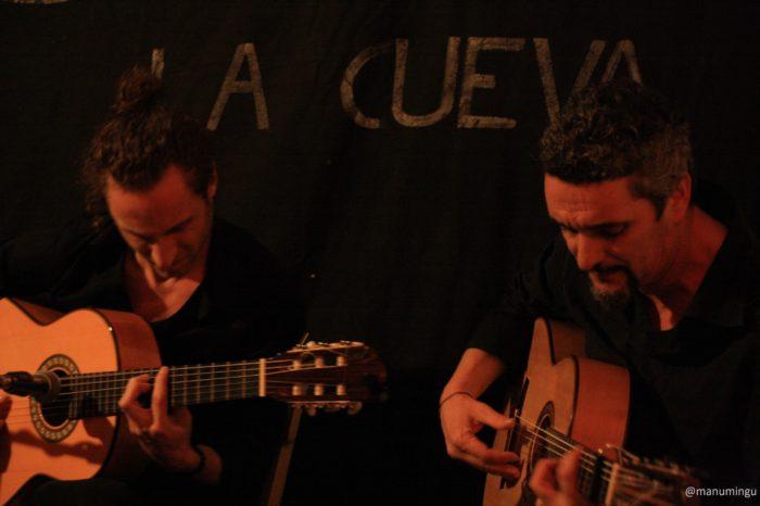 Cuadro flamenco. Los Viernes en la cueva