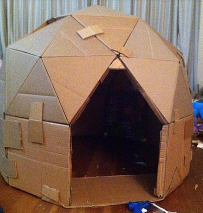Box - Atelier didattico nomade: Il Cartone#1 | La tenda a cupola