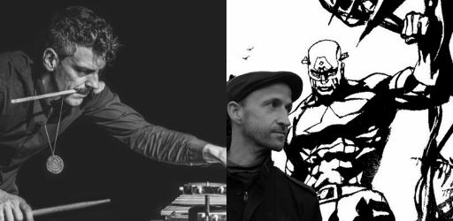 Danijel Žeželj + Pasquale Mirra | Live Painting